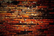 Free Red Brick Wall Stock Images - 26628994