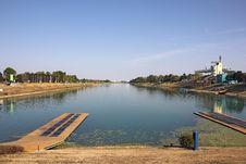 Free Rowing Lanes Royalty Free Stock Image - 26629486