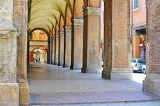 Free Arcade In Bologna Royalty Free Stock Photos - 26629598