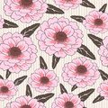 Free Vector Seamless Floral Pattern Royalty Free Stock Images - 26635779