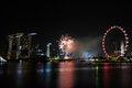 Free Singapore National Day 2012 Fireworks Royalty Free Stock Photos - 26637658