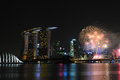 Free Singapore National Day 2012 Fireworks Stock Photography - 26637832