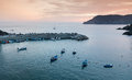 Free Harbor In Vernazza, Cinque Terre, Italy Royalty Free Stock Images - 26638709