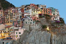 Free Manarola After Sunset, Cinque Terre, Italy Stock Photos - 26631953