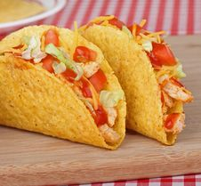 Free Two Tacos Stock Photography - 26632412