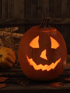 Free Halloween Jack-O-Lantern Stock Images - 26632654