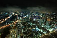 Free Night View Of Bangkok Royalty Free Stock Photos - 26634898