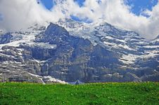 Free Swiss Alps. Royalty Free Stock Photography - 26635277