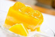 Free Orange Cake Royalty Free Stock Photos - 26635958
