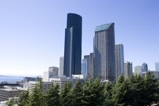 Free Seattle In Summer Royalty Free Stock Image - 26636606