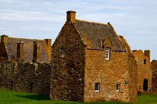 Free Silver House,Dunnottar Castle, Stonehaven, Scotland, U.K Royalty Free Stock Photography - 26637437