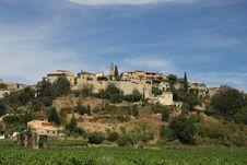 Free Provencal Village In The Mountains Stock Photos - 26639913