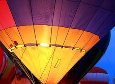 Balloon Glow At St. Louis Royalty Free Stock Photo