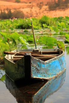 Free Lotus Lake Stock Images - 26645034