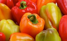 Free Bell Peppers Background Royalty Free Stock Image - 26645076