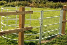 Free Kissing Gate. Royalty Free Stock Photography - 26649437