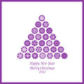 Free Happy New Year & Merry Christmas Stock Image - 26653571
