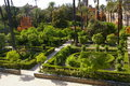 Free Moorish Palace And Garden In Seville, Stock Images - 26657474