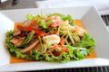 Free Spicy Seafood Salad Royalty Free Stock Photos - 26669048