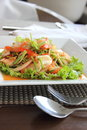 Free Spicy Seafood Salad Royalty Free Stock Photos - 26669078