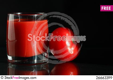 Free Tomato Juice Royalty Free Stock Images - 26663399