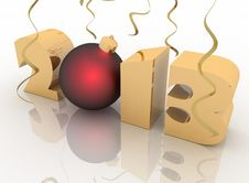 Free 2013 Year Stock Image - 26661951