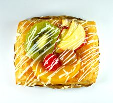 Sweet Fruit Danish Royalty Free Stock Photography