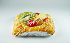 Sweet Fruit Danish Stock Images
