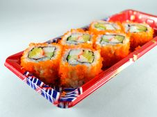 Japanese Roll Royalty Free Stock Image
