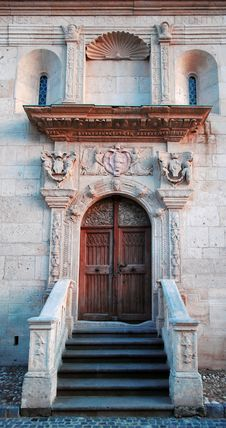 Free Antique Church Door Royalty Free Stock Image - 26675376