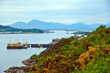 Free Bridge To The Isle Of Skye, Scotland Stock Images - 26676614