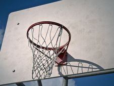 Free Basketball Hoop Stock Photography - 26679302