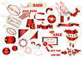 Free Collection Of Vector Labels For Sale Design Royalty Free Stock Photos - 26686748