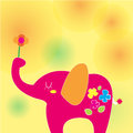 Free Elephant On A Sunny Day Royalty Free Stock Images - 26686789