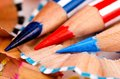 Free Close Up Pencil Color Royalty Free Stock Photos - 26687008