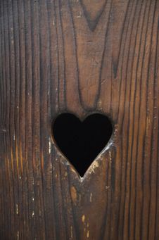 Free Wooden Heart Royalty Free Stock Images - 26682629