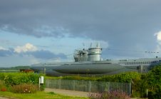 Free Submarine In Kiel - Germany Royalty Free Stock Photo - 26682635