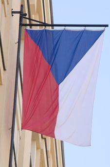 Free Czech Flag Royalty Free Stock Photos - 26682648
