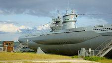 Free Submarine In City Kiel Laboe - Germany Stock Photography - 26682702