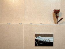 Toilet Details Stock Photo