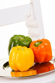 Free Garlic And Peppers Stock Photos - 26684353