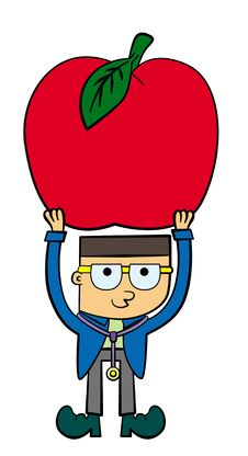 Free A Doctor With An Apple Stock Images - 26686894