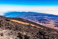 Free Beautiful Landscape With Mountains Teide Stock Image - 26687241