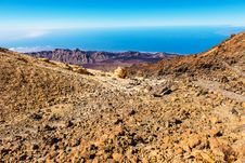 Free Beautiful Landscape With Mountains Teide Stock Photo - 26687330