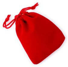 Free Red Jewelry Bag02 Stock Photo - 26687340