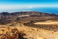 Free Beautiful Landscape With Mountains Teide Royalty Free Stock Photography - 26687357