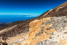 Free Beautiful Landscape With Mountains Teide Royalty Free Stock Photos - 26687378