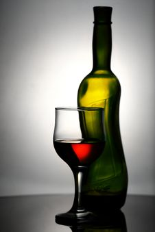 Free Abstract Wine Still Life Royalty Free Stock Photos - 26691108