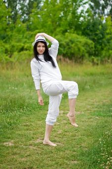 Free Dancing In Nature Stock Photography - 26692292