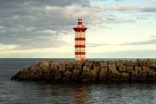 Free Port Lighthouse Royalty Free Stock Photography - 26693647